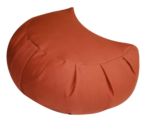Buckwheat Crescent Zafu Meditation Cushion